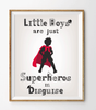 Little Superhero's Poster