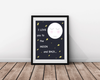 I Love You To The Moon & Back Wall Print