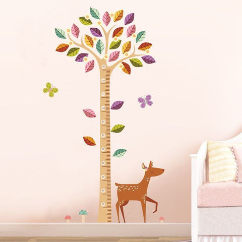 Growth Height Chart Wall Decal (Large)