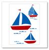 Sail Boats Wall Decal