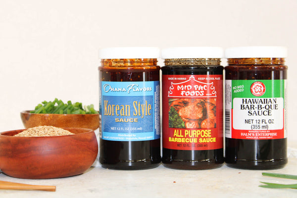BBQ Favorites Trio - 3 Bottles of 12 oz Sauces
