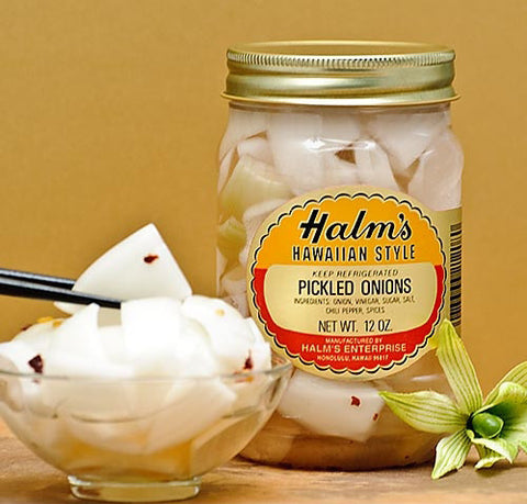 Halm's Hawaiian Style Pickled Onions