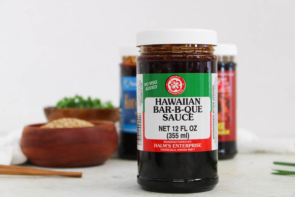 Halm's Hawaiian Barbecue Sauce