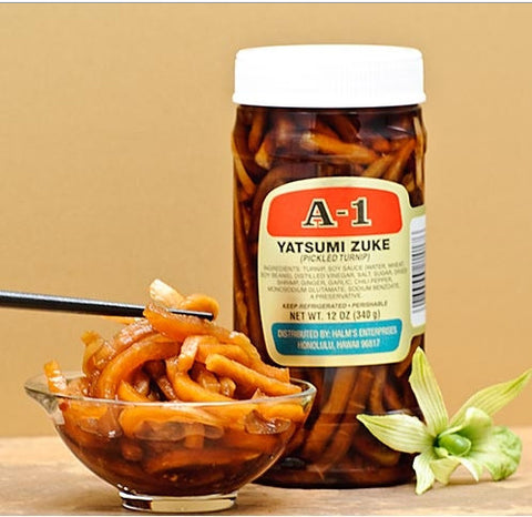 A-1 Brand Yatsumi Zuke Pickled Turnip