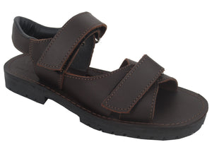 Safari  Cabana velcro sandal - Brown