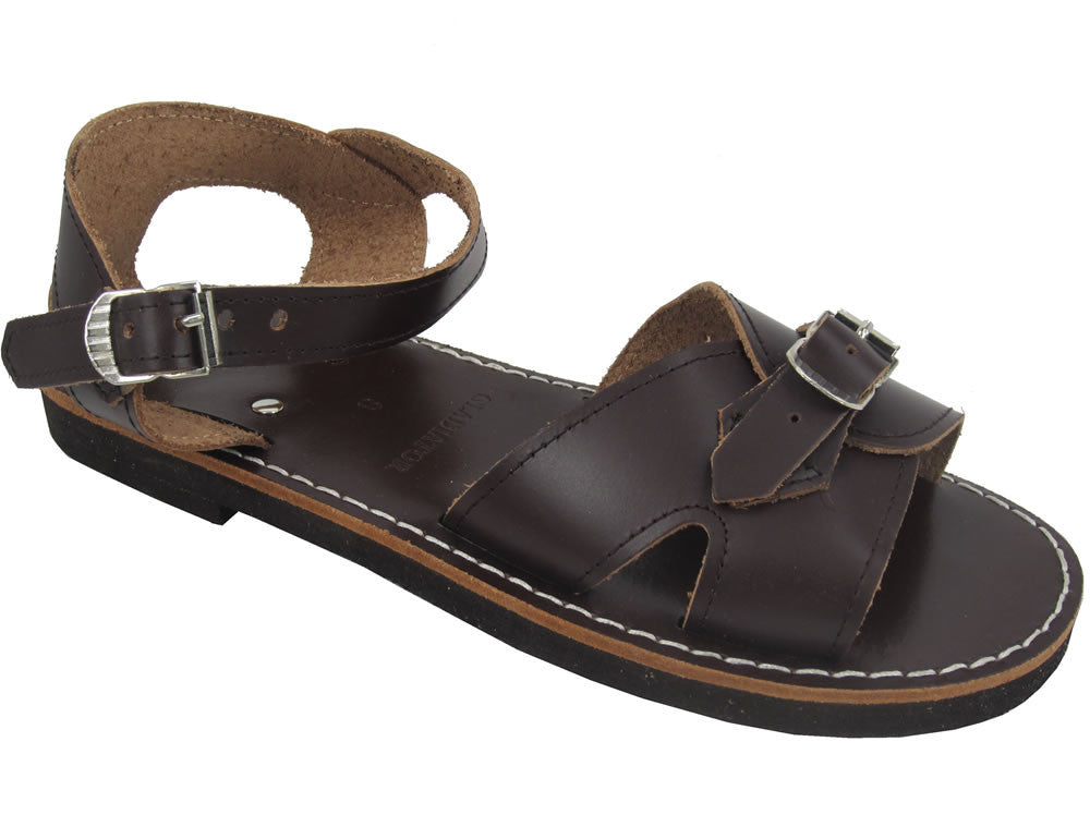 Gladiator Roman School Sandal - Brown