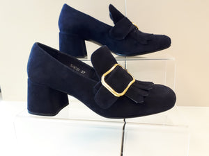 Samosa women's Dress Shoes - navy blue