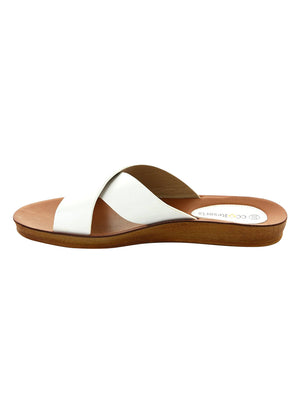 Veera Cross Over Sandals - White