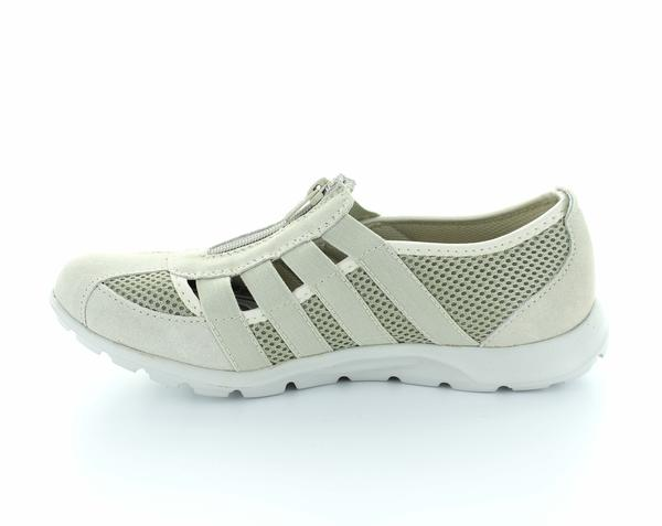 Christine Bone Comfort Leather Shoes - Bone