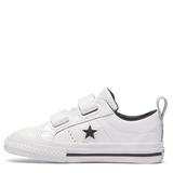 Converse One Star Leather 2V Toddler -  Low Top White leather