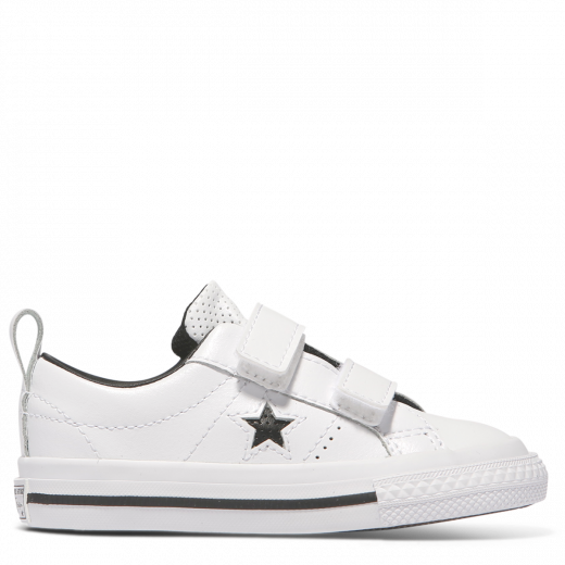 34f31f6e4c61a5 Converse One Star Leather 2V Toddler - Low Top white