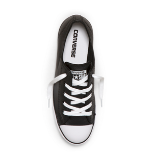 Chuck Taylor All Star Dainty Ox leather - black