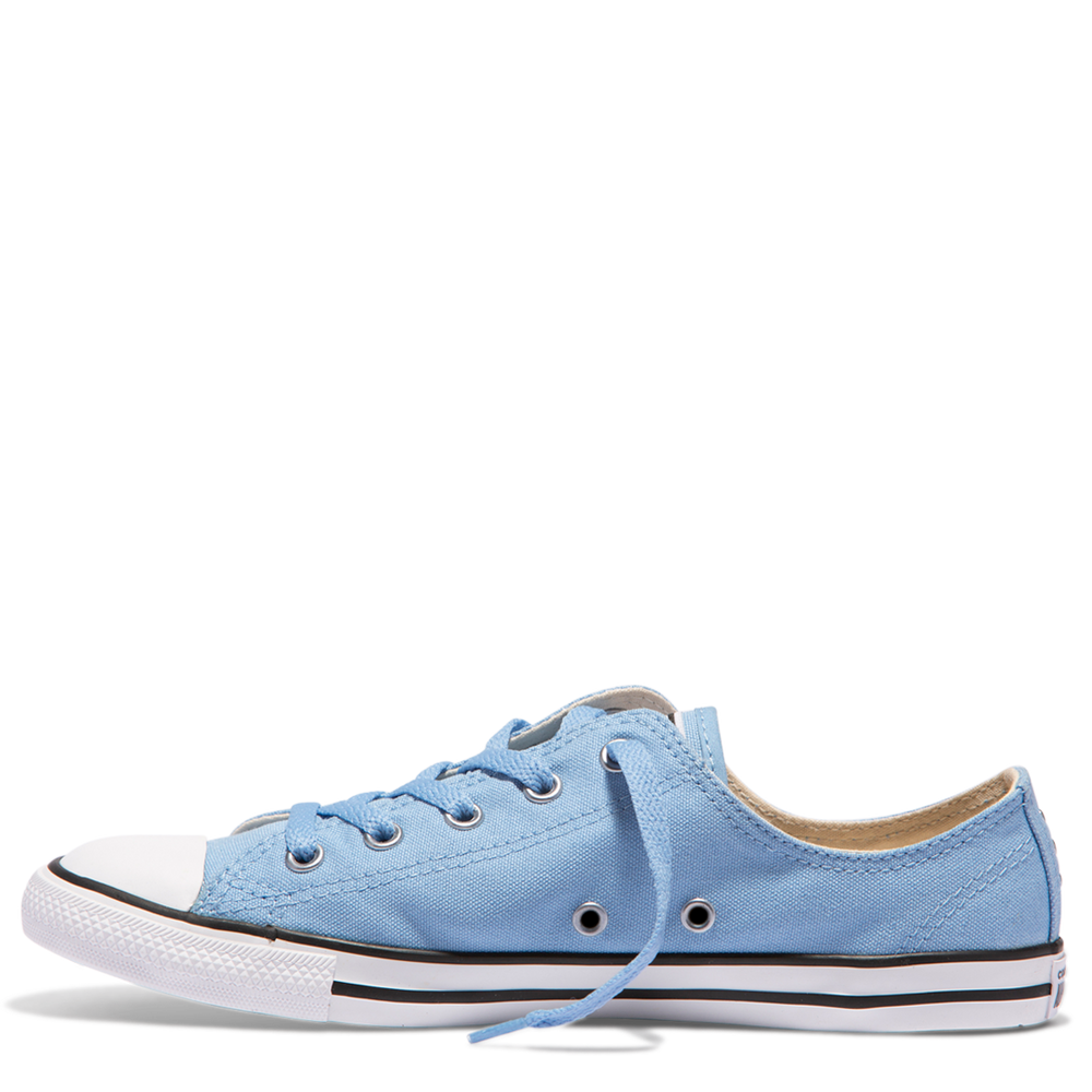 a5ccbbbcb27d Chuck Taylor All Star Dainty ox Canvas Stud - Blue – Eden Shoes.