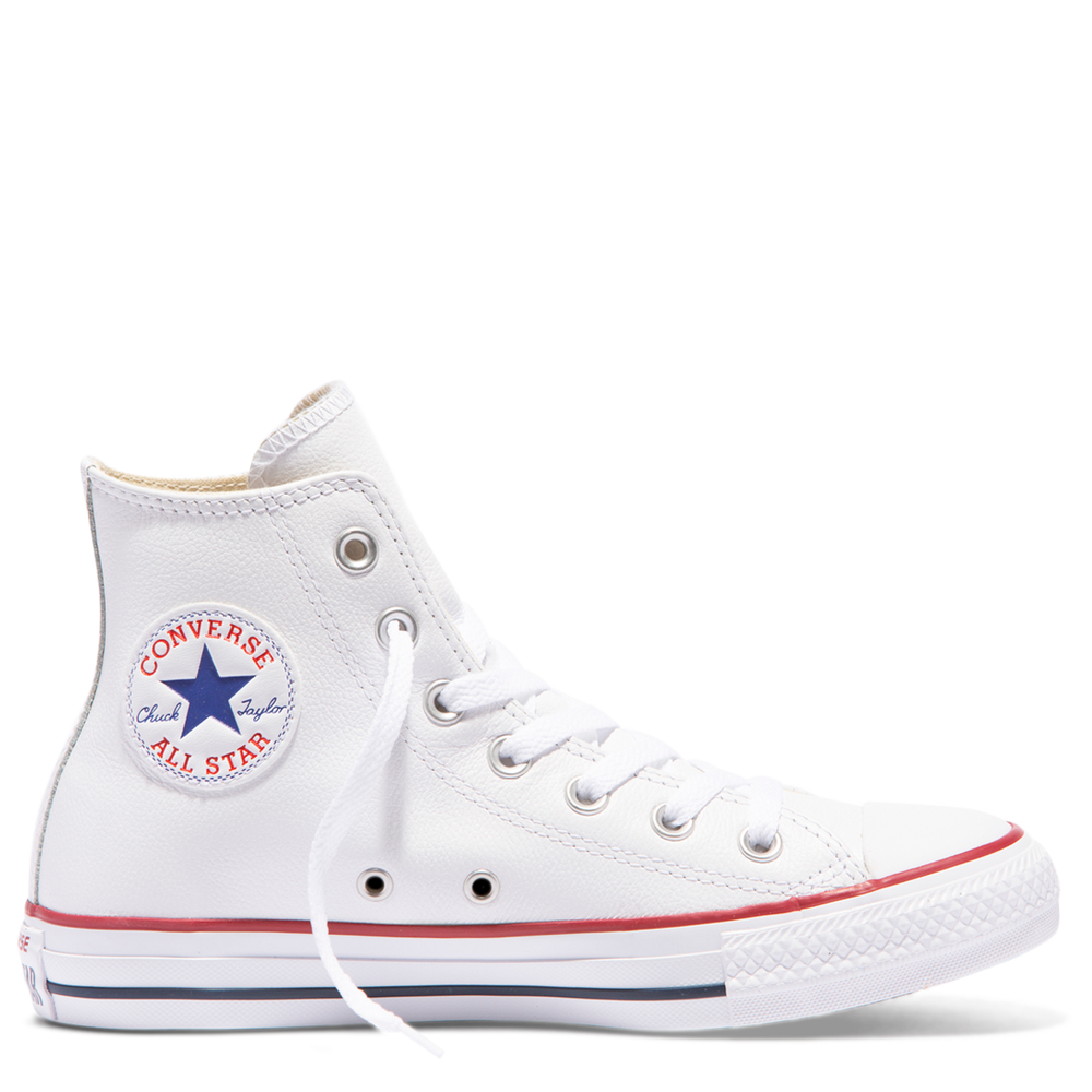 Converse Chuck Taylor All Star Hi Leather - white