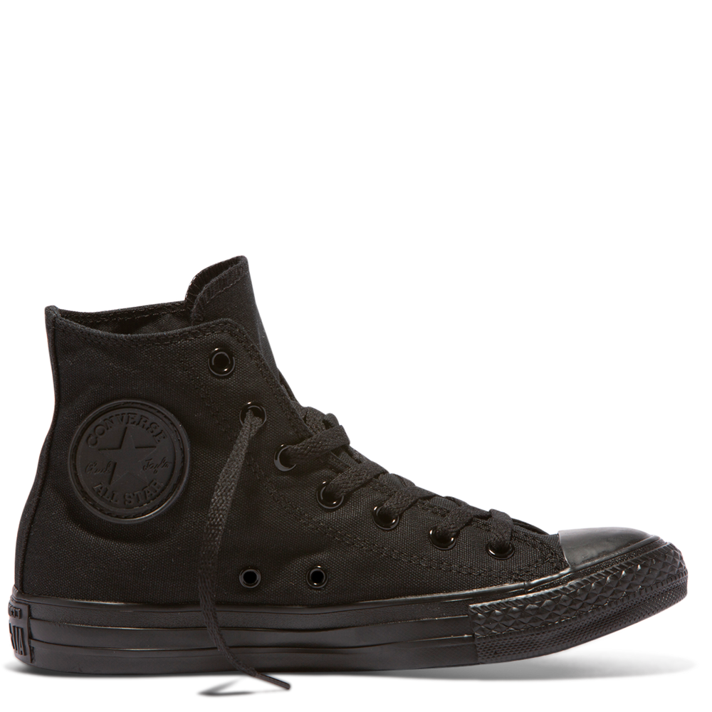 Chuck Taylor All Star Core Hi monochrome Canvas - Black