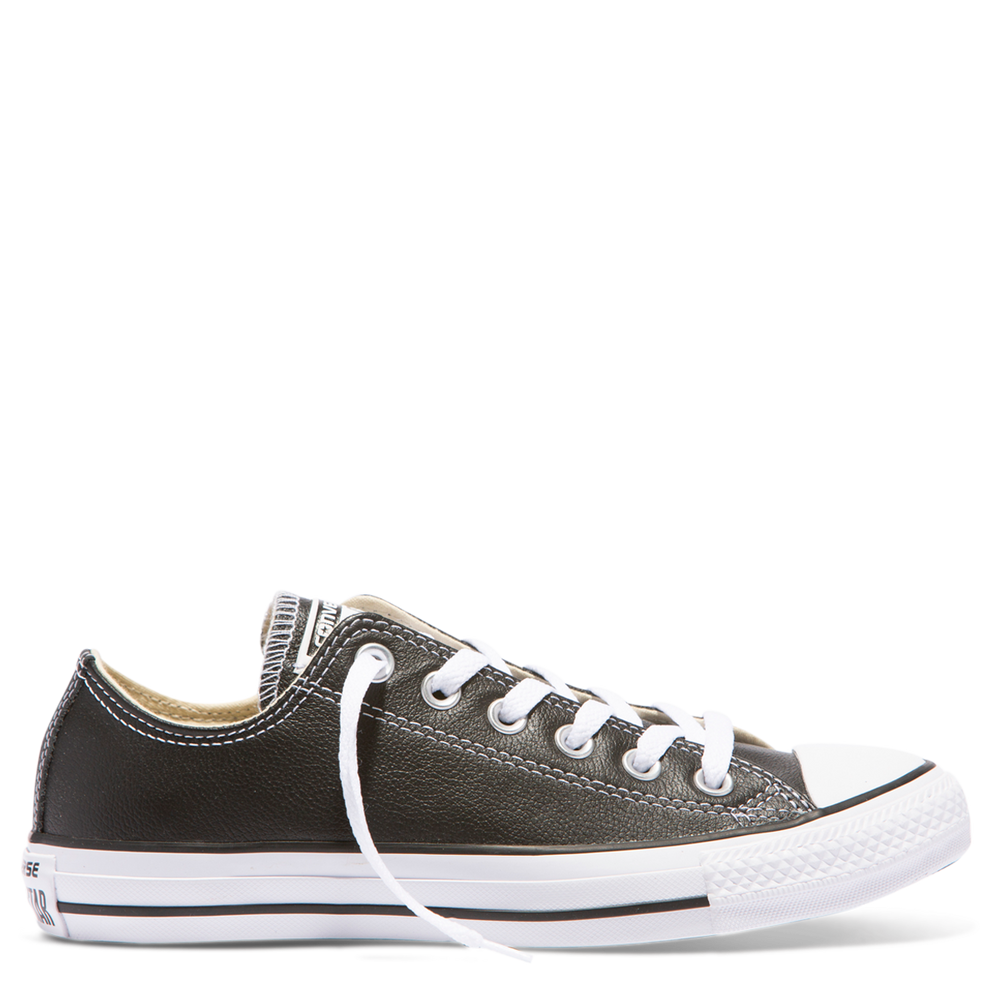 Chuck Taylor All Star Ox Leather - black