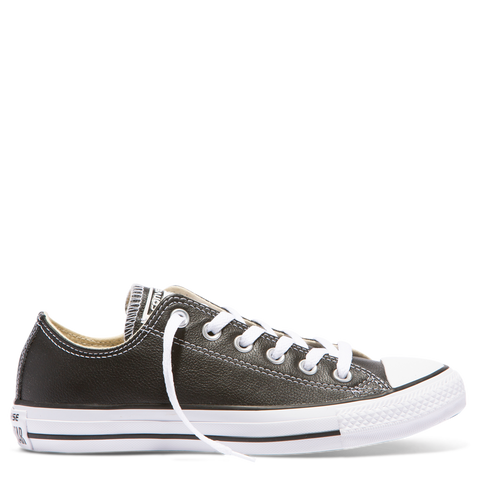 Chuck Taylor All Star Basic Ox - Black/white Leather