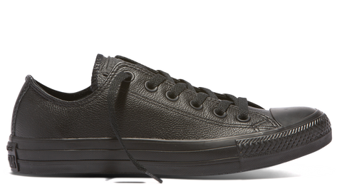 Chuck Taylor All Star Ox - Black Monochrome Leather