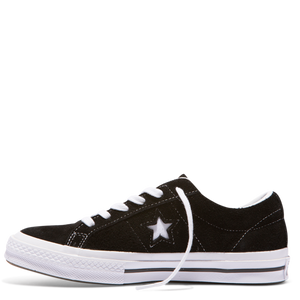 One Star Premium Suede Low - black