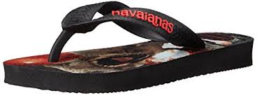 Havaianas Kids Jurassic World - Black/Red