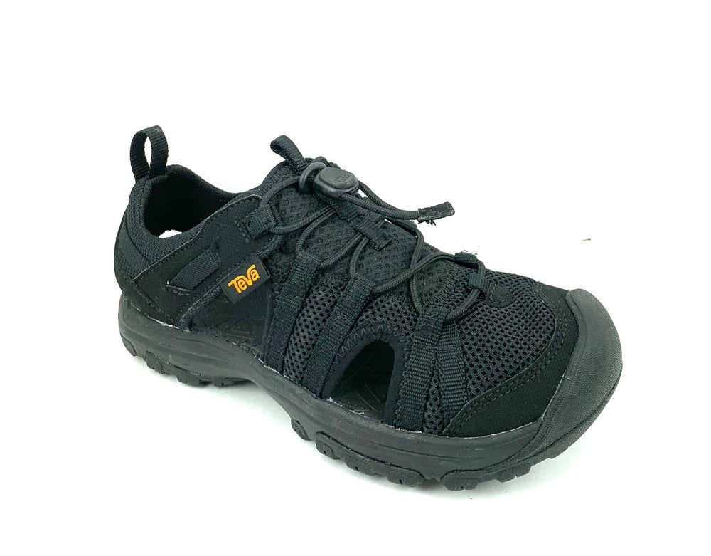 K Manatee Youths Closed Toe Sandal - Black