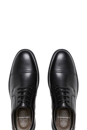 University Mens Dress Shoes  - Black