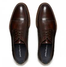 Hustle Mens Dress Shoes - dark brown