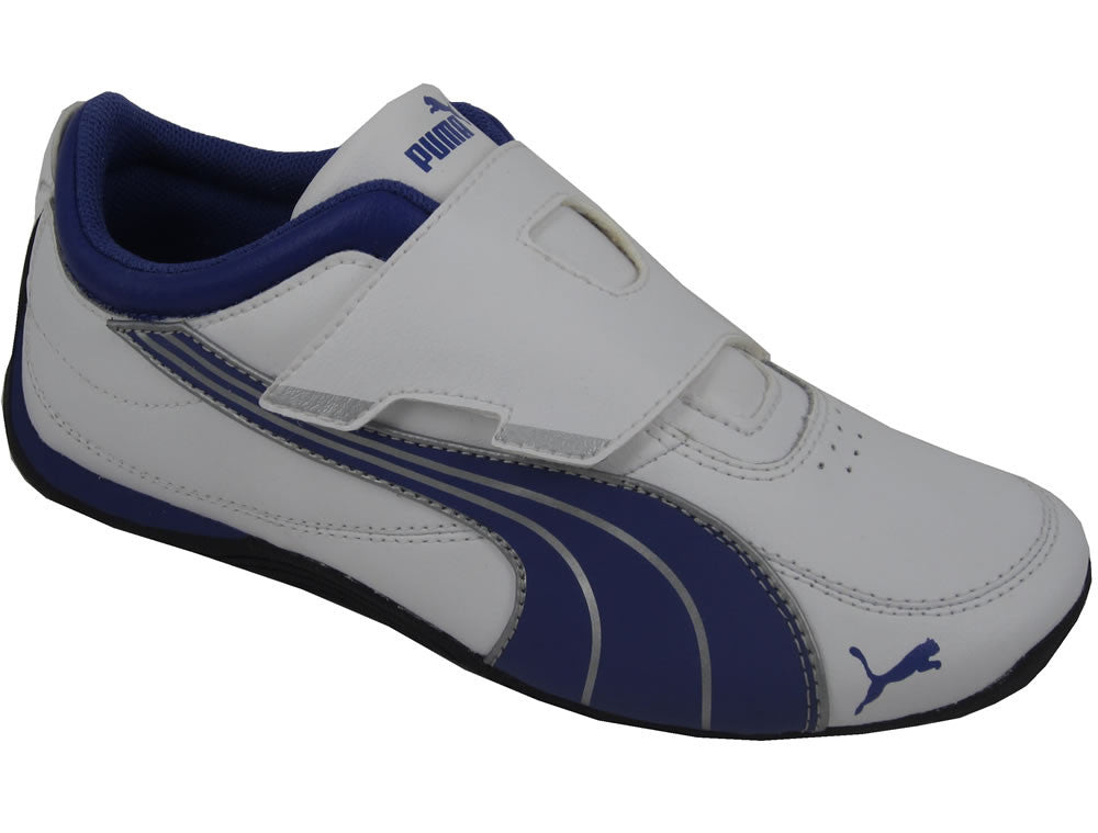 Youths Drift Cat 4 Velcro - white
