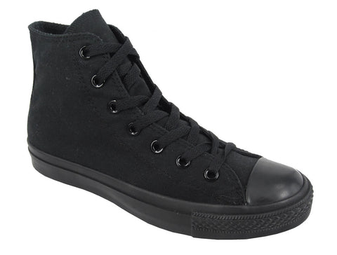 Youths Chuck Taylor All Star Seasonal Hi - Black Monochrome