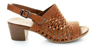 Le Sansa Lana Tan Womens Leather Sandals - Tan