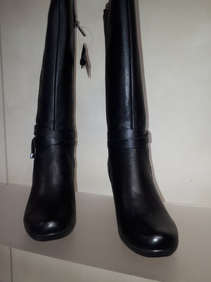 Natural Comfort Aida Knee High Boots - black