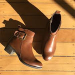 Austen Ankle Boots - Brown