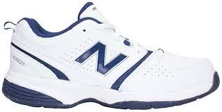 New Balance KX625WNY M Youths Leather Crosstrainers - White