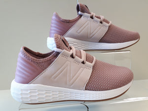 New Balance Womens Fresh Foam Cruz v2 Nubuck - pink