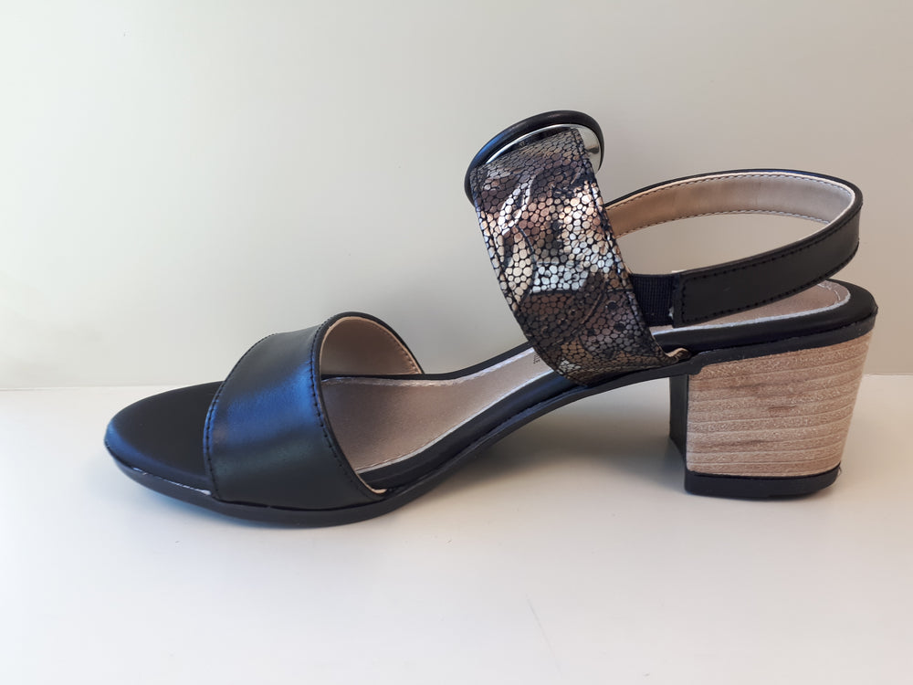 Origin Studio Pero Nero Womens Fashion Heels - Made in Italy