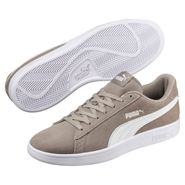 Puma Smash V2 Elephant Skin Sneakers  - light grey