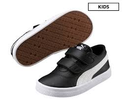 Urban SL V PS Kids Velcro Sneakers - black