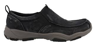 Larson Bolten Mens casual slip-on - black/charcoal