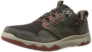 Teva Arrowood Waterproof Trail Sneakers - black/olive