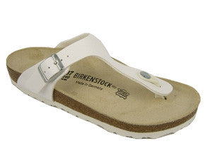 Birkenstock Gizeh birko-flor regular fit - white