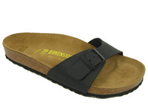 Birkenstock Madrid Birko- Flor Regular Fit - Black
