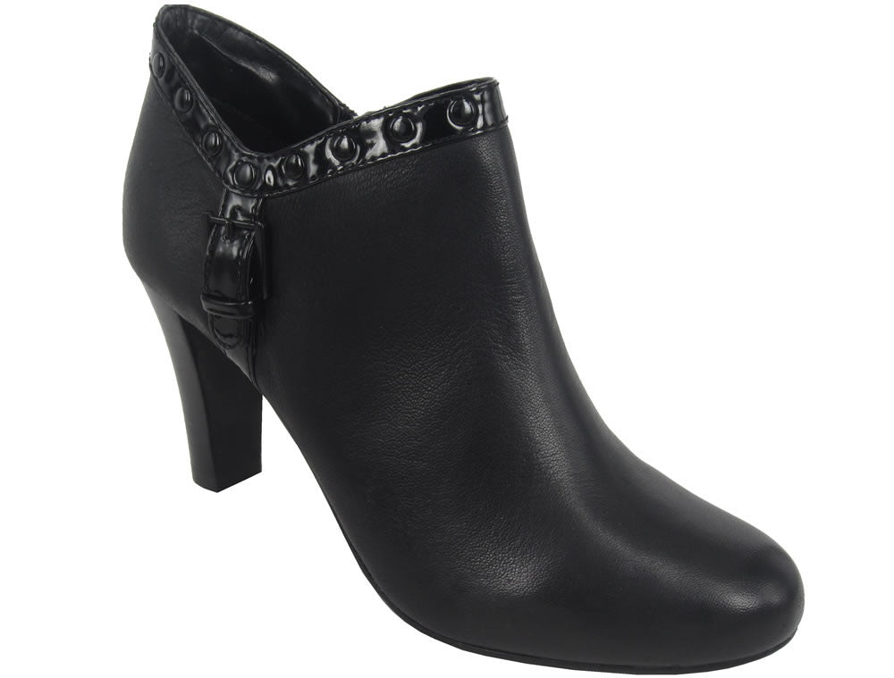 Tempest Zip Women's Ankle Boot - black