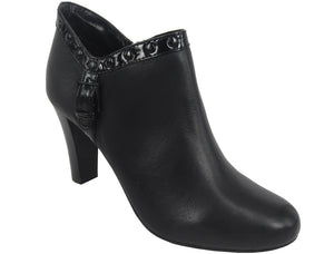 Lotus 'Tempest' Zip Women's Ankle Boot - black