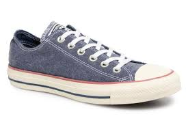 Chuck Taylor  All Star Ox Stonewash - navy blue