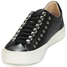 S-Mustave Low Women's - Black leather