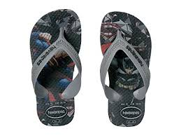 Havaianas kids max heroes superman batman - black