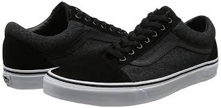 Vans Youths Old Skool Suede Suiting - black