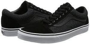Youths Old Skool Suede Suiting - black