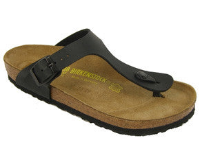 Birkenstock Gizeh birko-flor regular fit - Black
