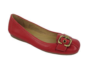 Naturalizer Tracer Womens Fashion Flats - Angel Red